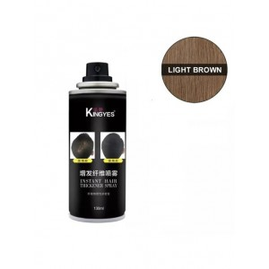 Спрей загуститель волос Kingyes (светло-коричневый)