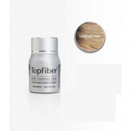 Купить TopFiber Финский кератиновый загуститель волос (светло-коричневый)  фото