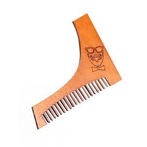 """Расческа деревянная """"Модник"""", для оформления бороды и усов"""