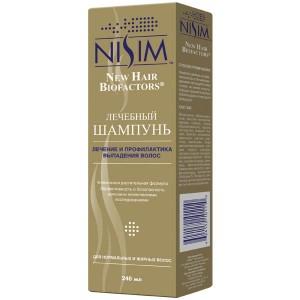 Шампунь Nisim от выпадения волос (для нормальных и жирных волос)