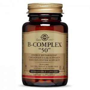 Солгар B-Комплекс, 50 капсул