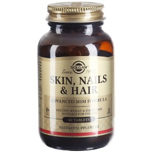Витаминно-минеральный комплекс Solgar Skin, Nails & Hair (60 таблеток)