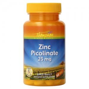 Цинк пиколинат 25 мг Thompson, 60 капсул