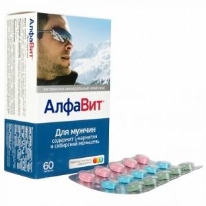 Витаминно-минеральный комплекс АлфаВит для мужчин