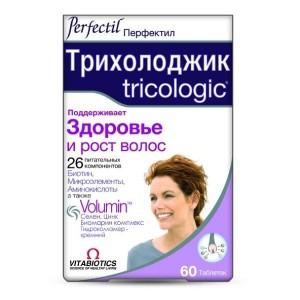 Витамины Перфектил Трихолоджик, 60 таблеток