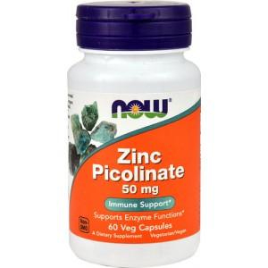 Цинк пиколинат 50 мг, 60 капсул
