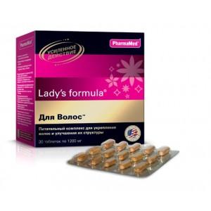 Леди'с формула, поливитамины для волос в капсулах, 30 капсул